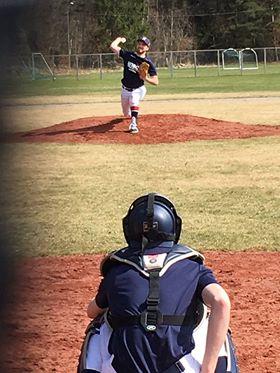 Spring training 2018 pitcher